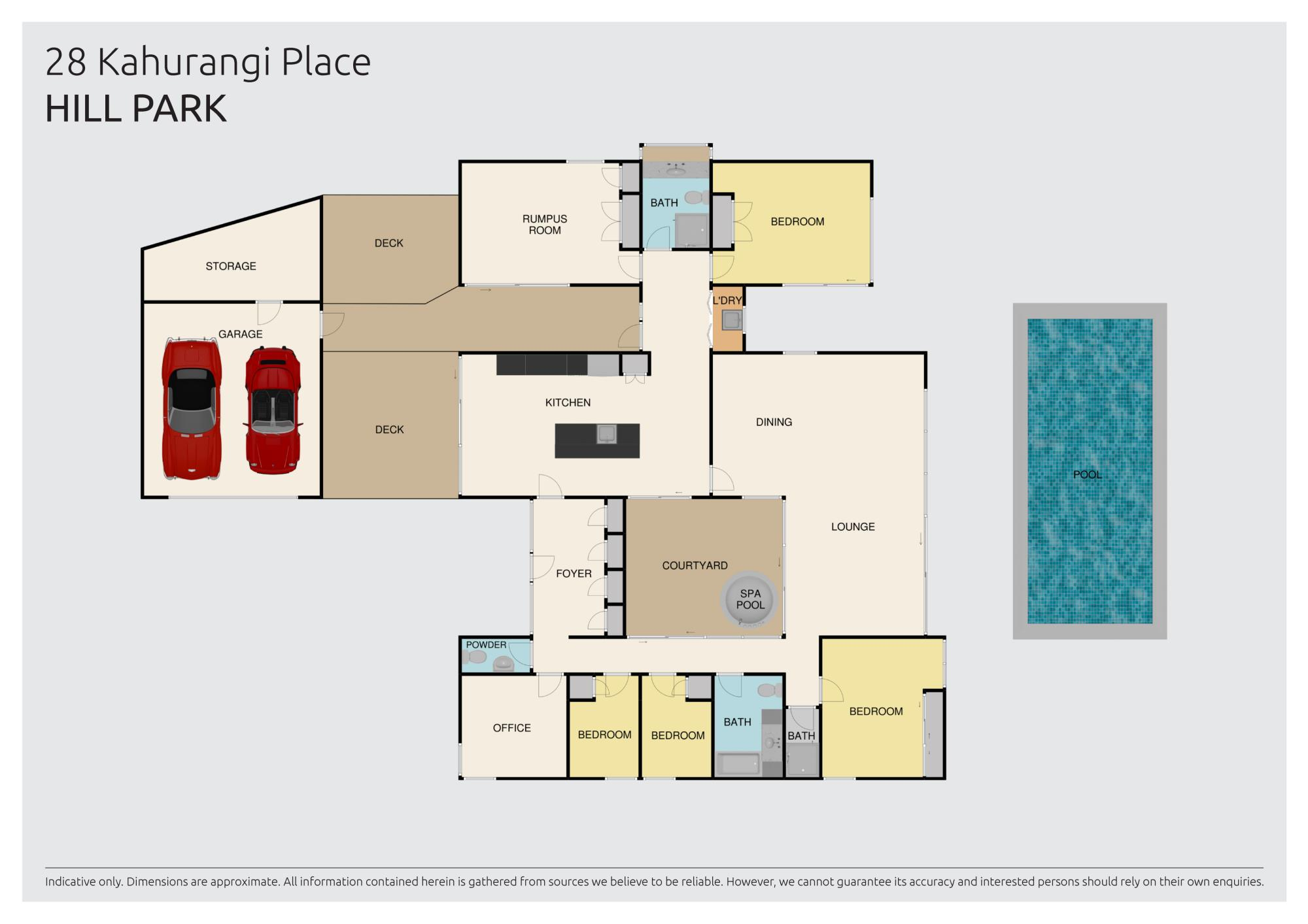 28 Kahurangi Place, Manurewaproperty floorplan image
