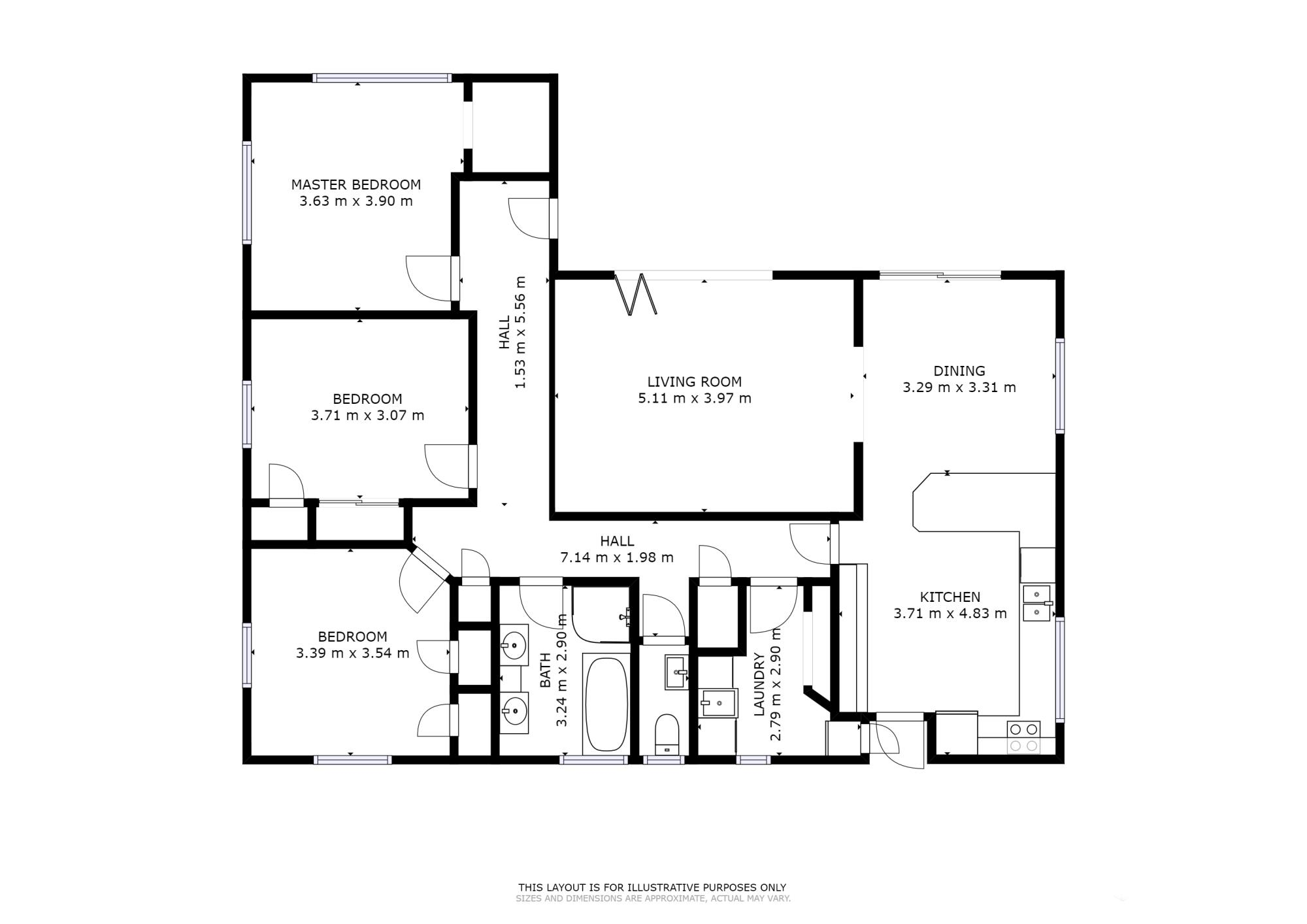 89 Maunu Road Horahoraproperty floorplan image