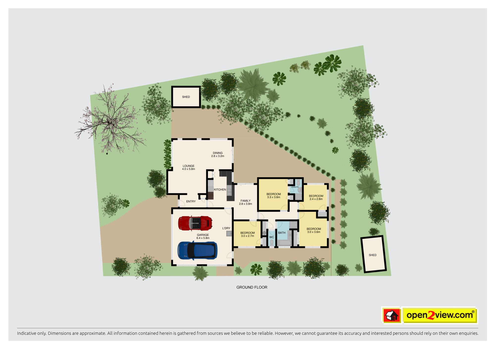13 Voltaire Court Botany Downsproperty floorplan image