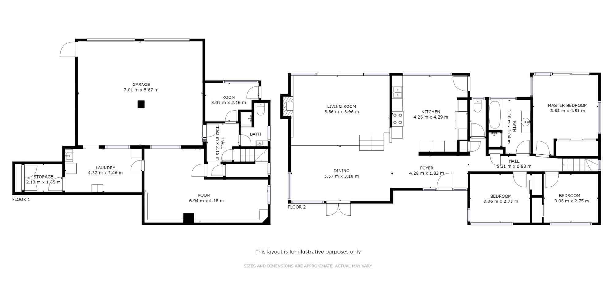 10 Tahuna Place Onerahiproperty floorplan image