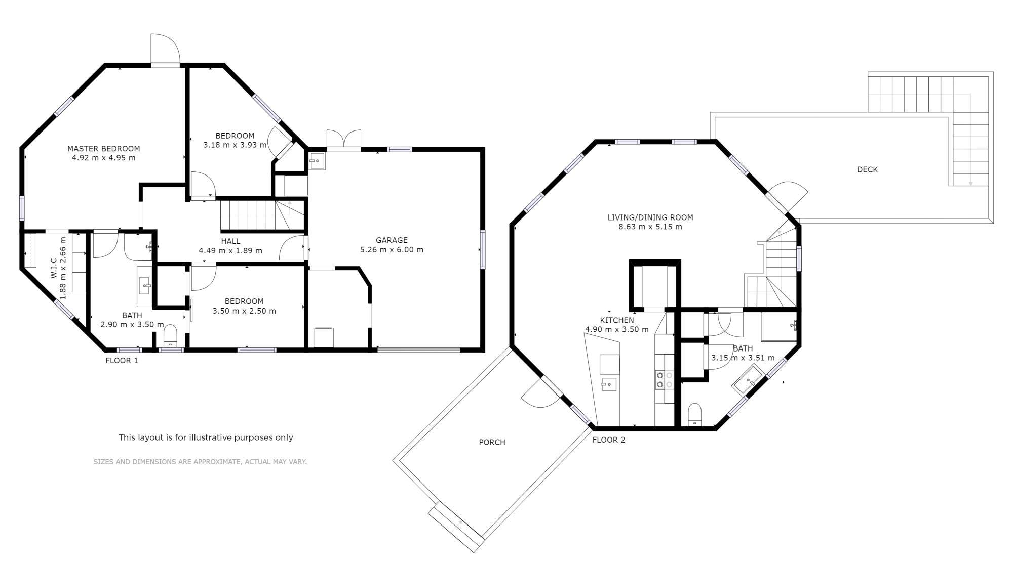 2 Kaiwaka Road Onerahiproperty floorplan image