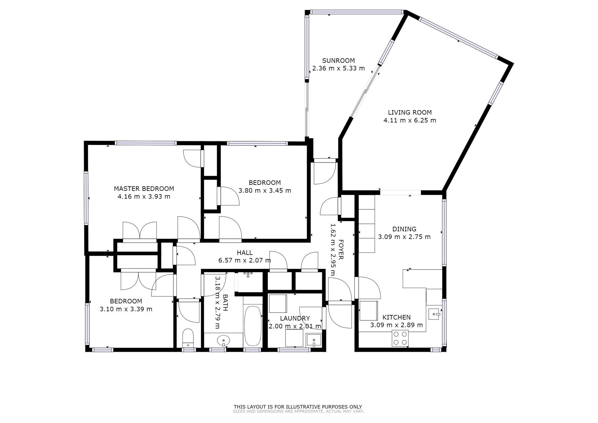 5 Hinemoa Street Onerahiproperty floorplan image
