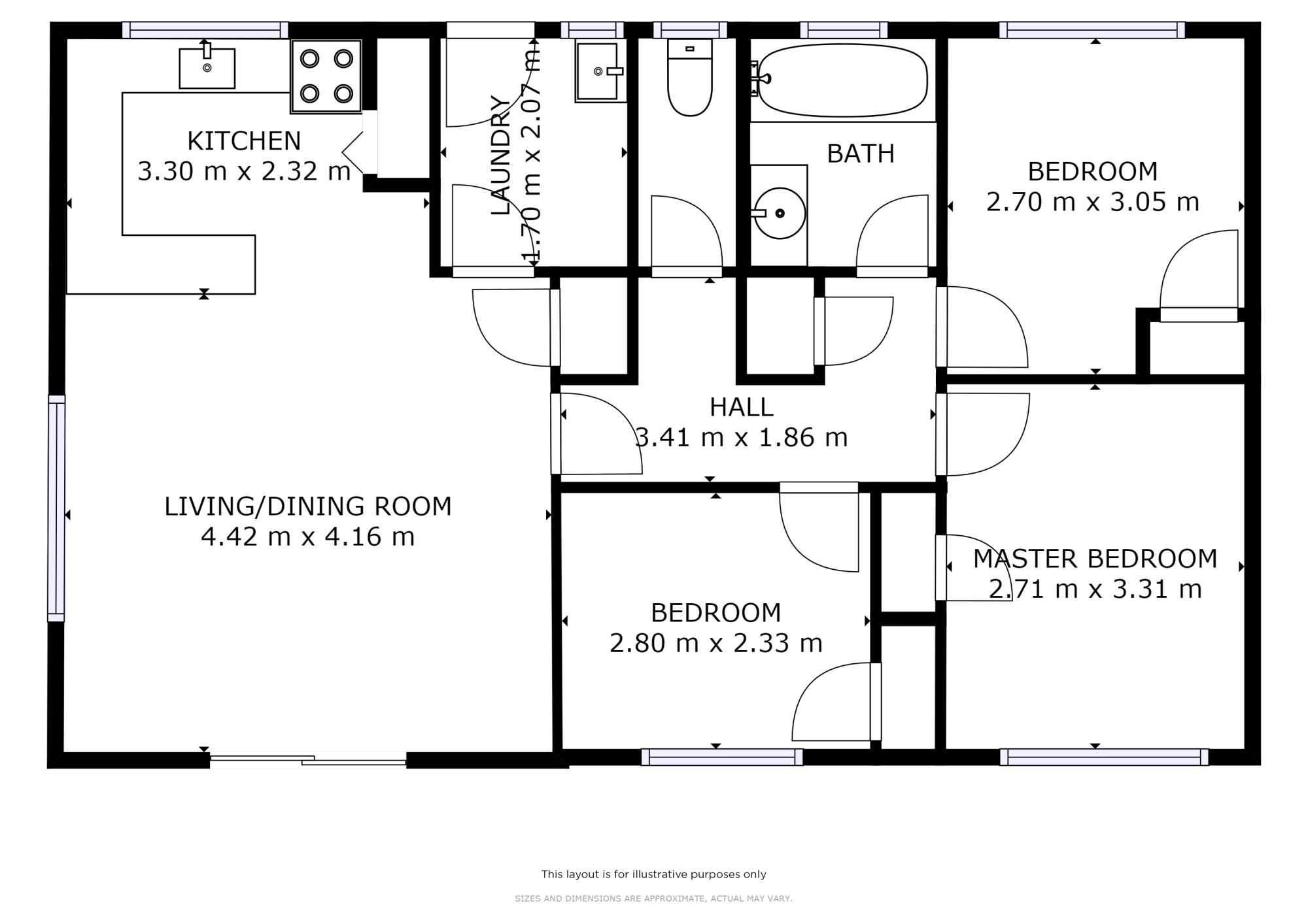 88A Tarewa Road Morningsideproperty floorplan image