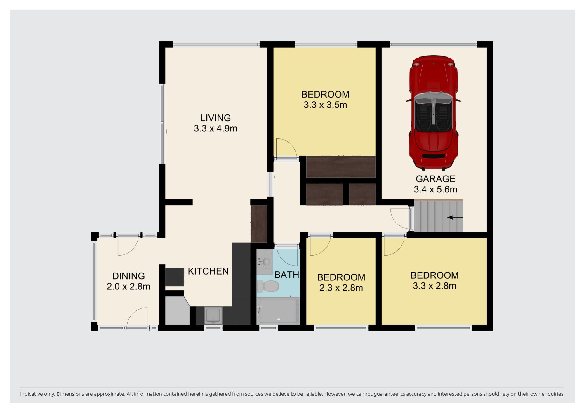 41A Reeves Road Pakurangaproperty floorplan image