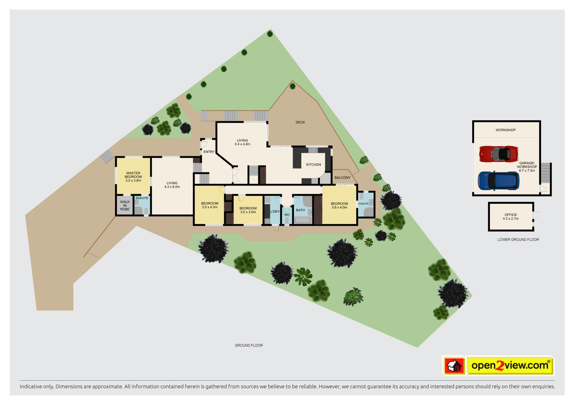 29 Woodview Rise Botany Downsproperty floorplan image