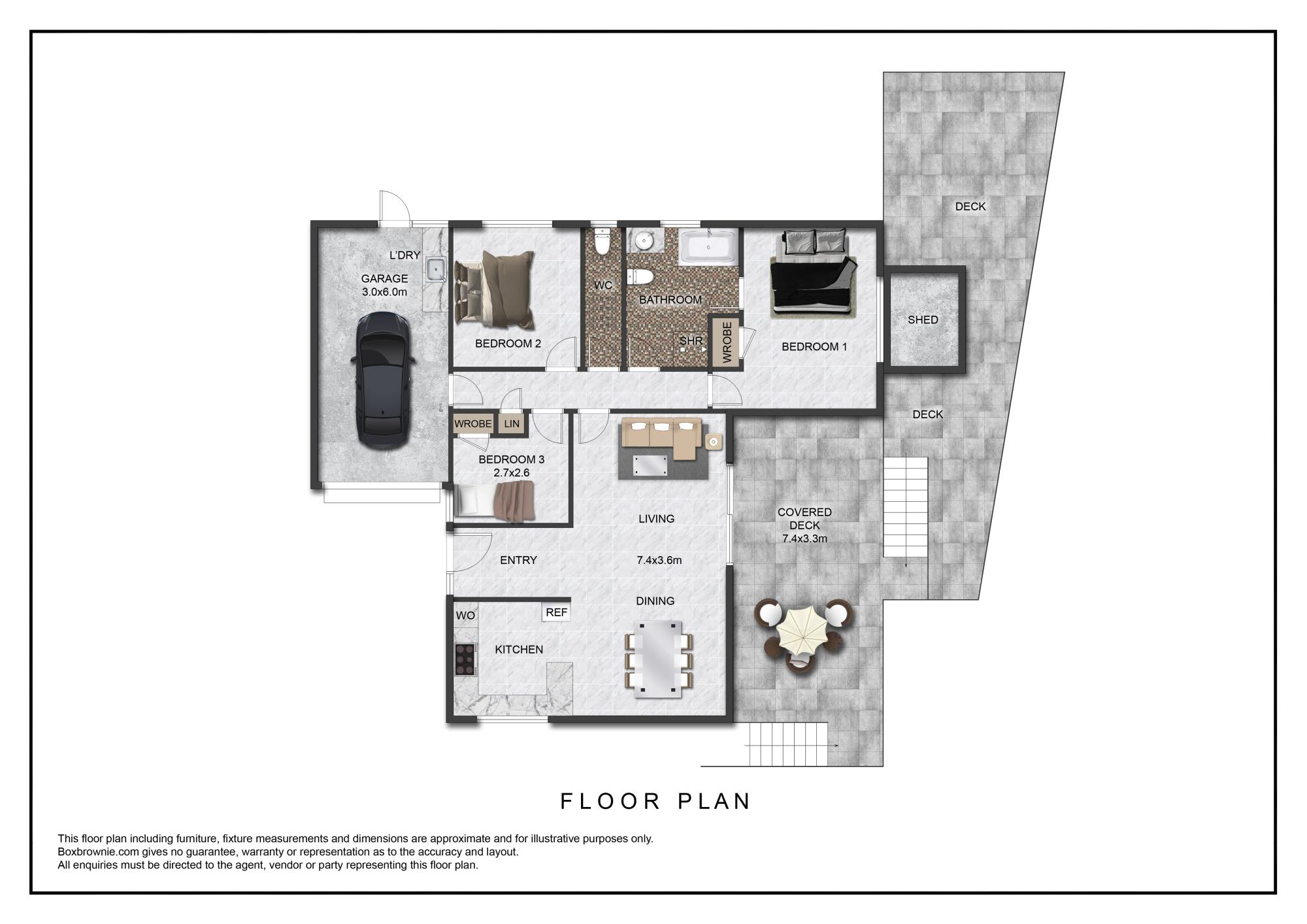 32B Abercrombie Street Howickproperty floorplan image