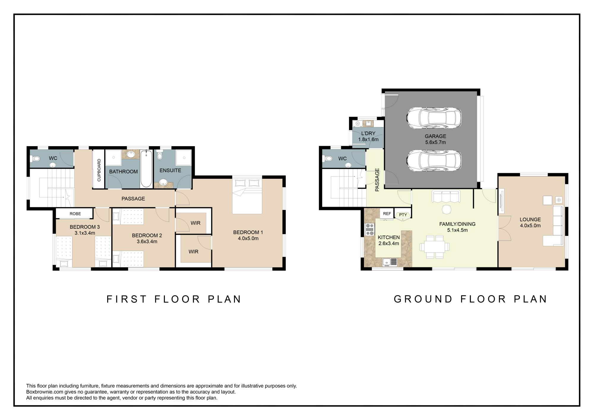 83 Nelson Street Howickproperty floorplan image