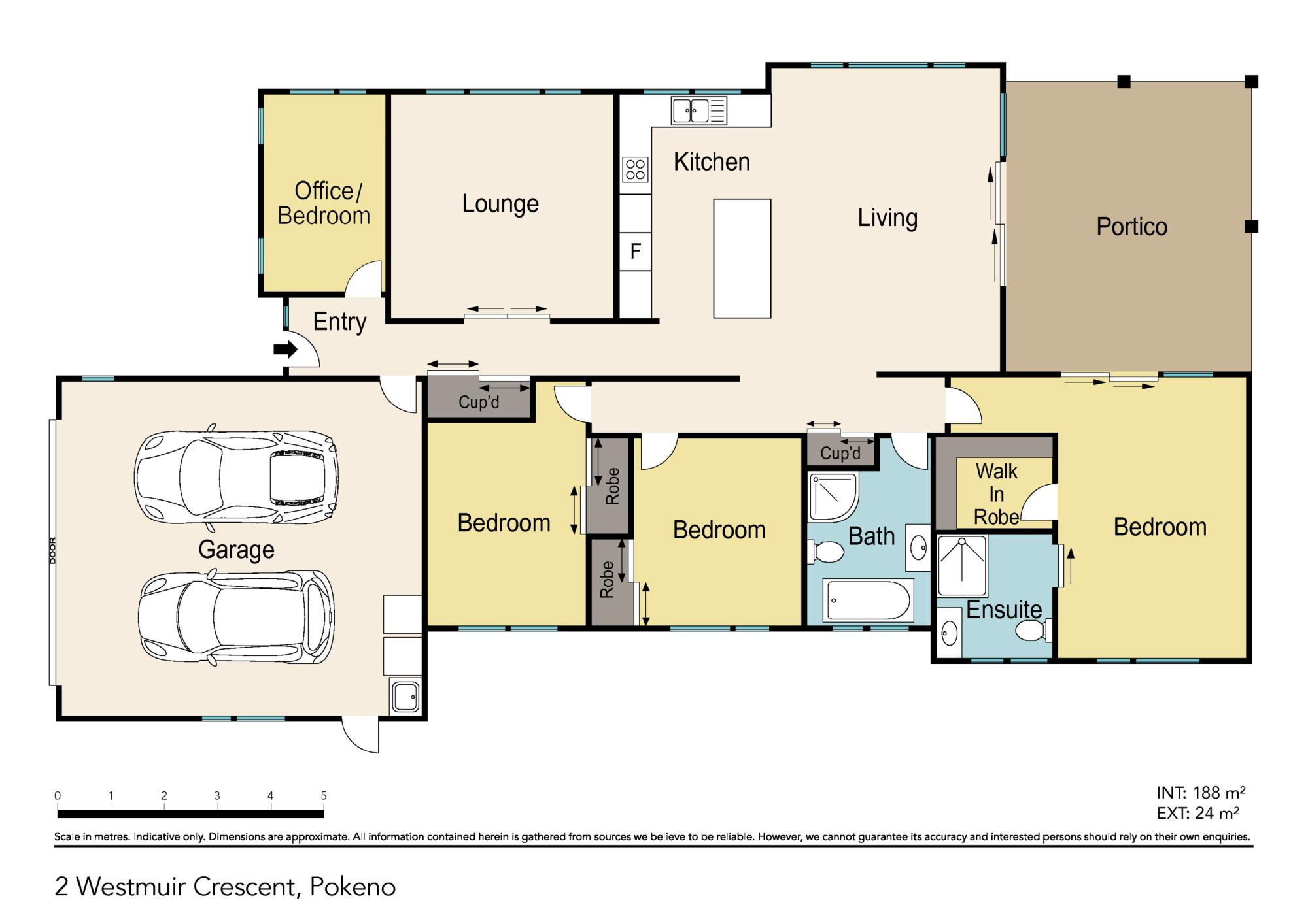 2 Westmuir Crescent Pokenoproperty floorplan image