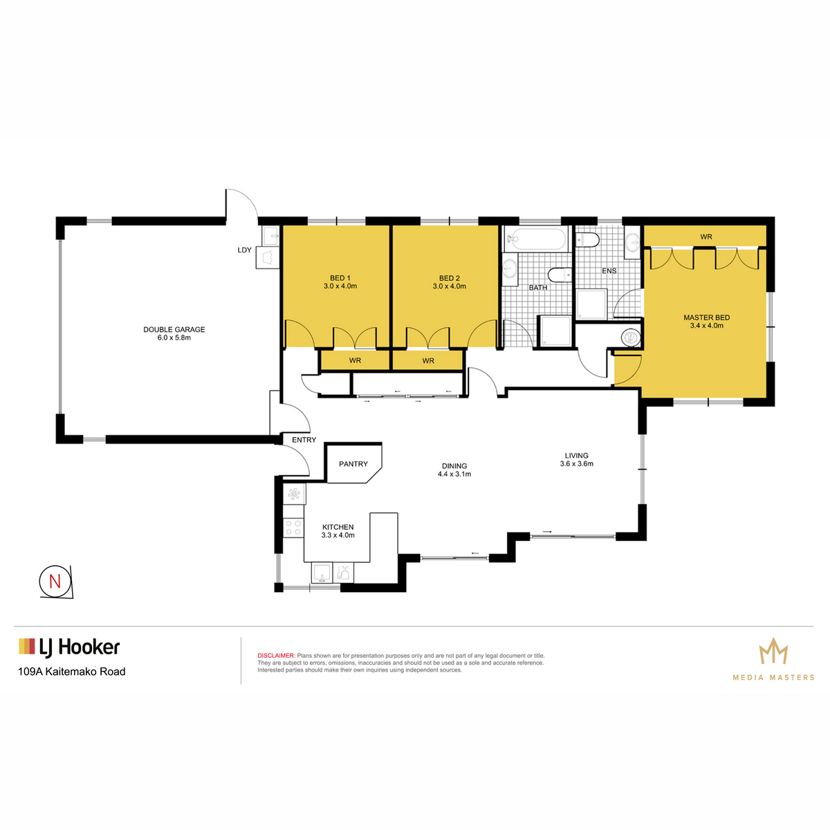 109A Kaitemako Road Welcome Bayproperty floorplan carousel image