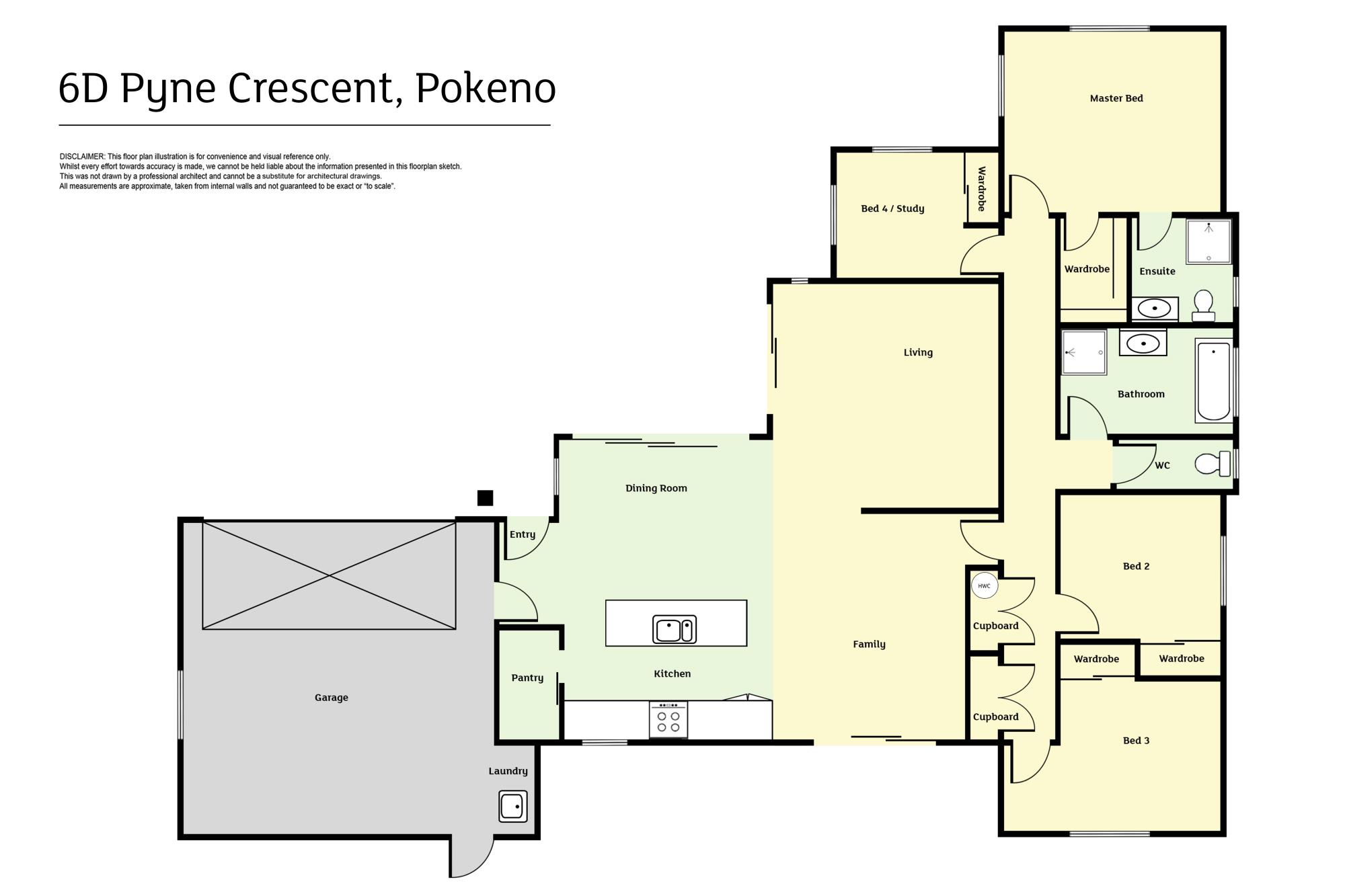 6D Pyne Crescent Pokenoproperty floorplan image