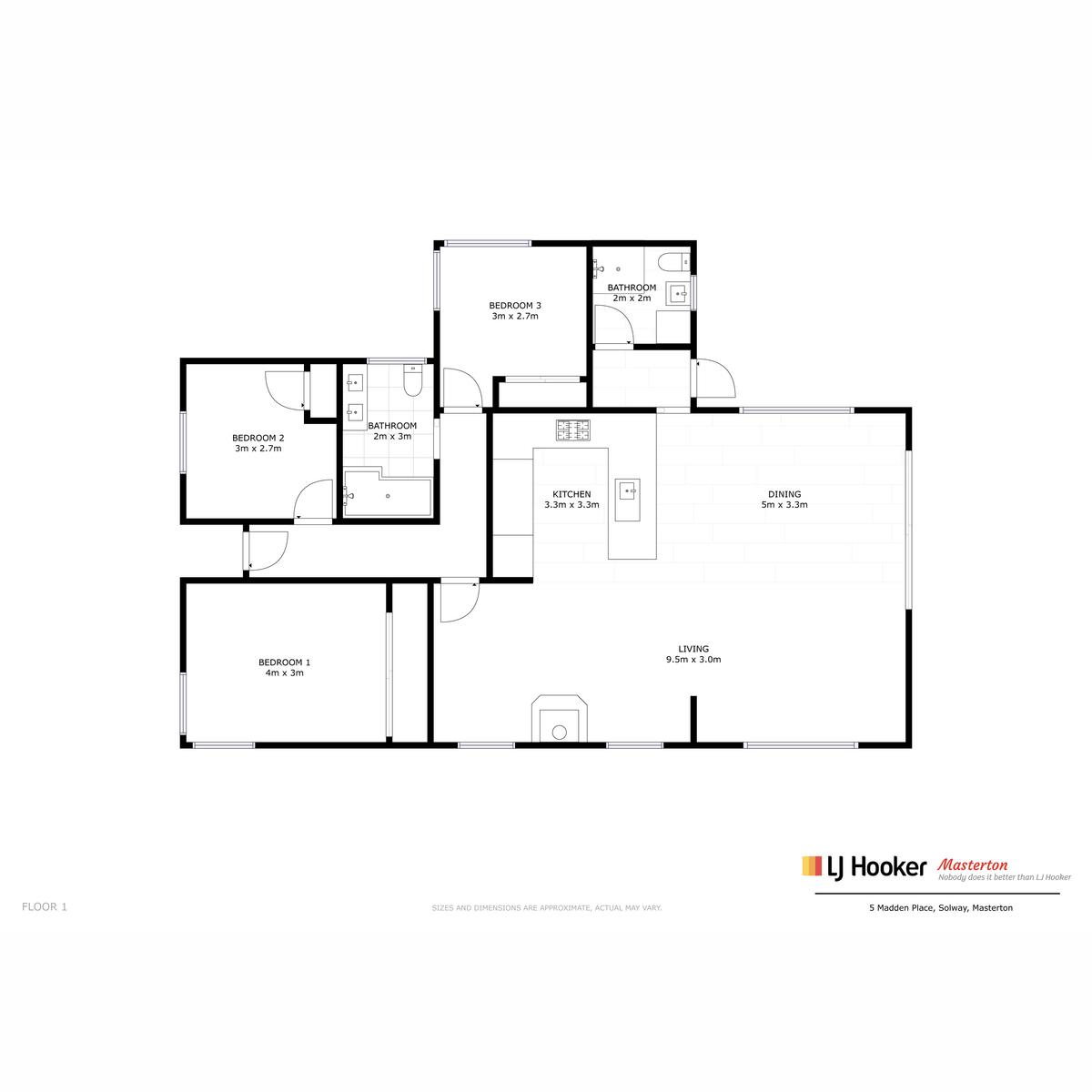 5 Madden Place Mastertonproperty floorplan image