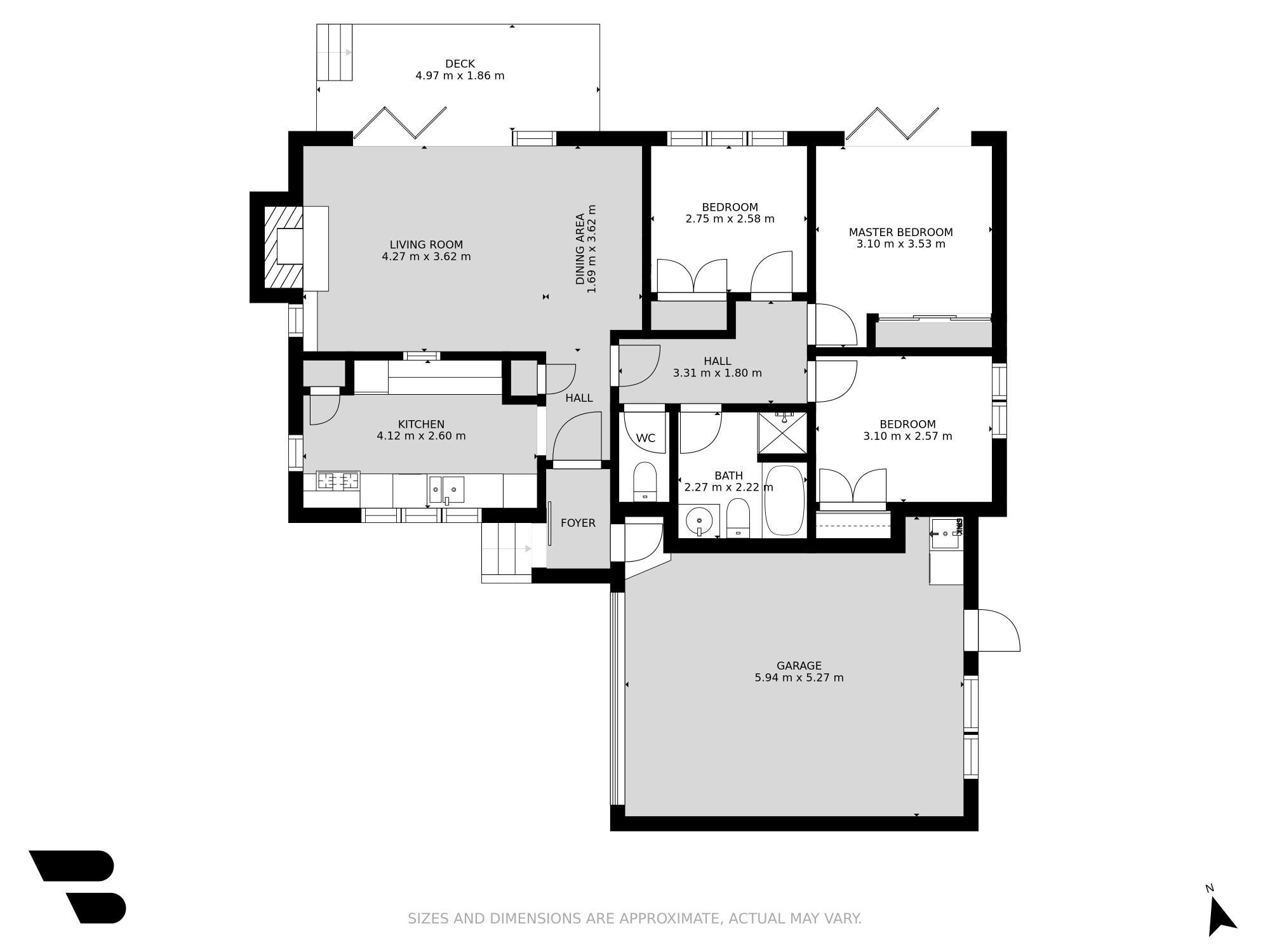 65 Gibraltar Street Howickproperty floorplan image